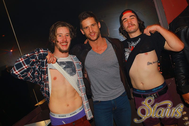 Dan Ewing, Guest Appearance at Stairs Nightclub